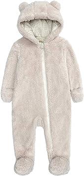 Mameluco con capucha para recién nacidos, mamelucos para niños y niñas, pijamas de franela de invierno, pijamas, trajes cálidos de invierno para bebés ...