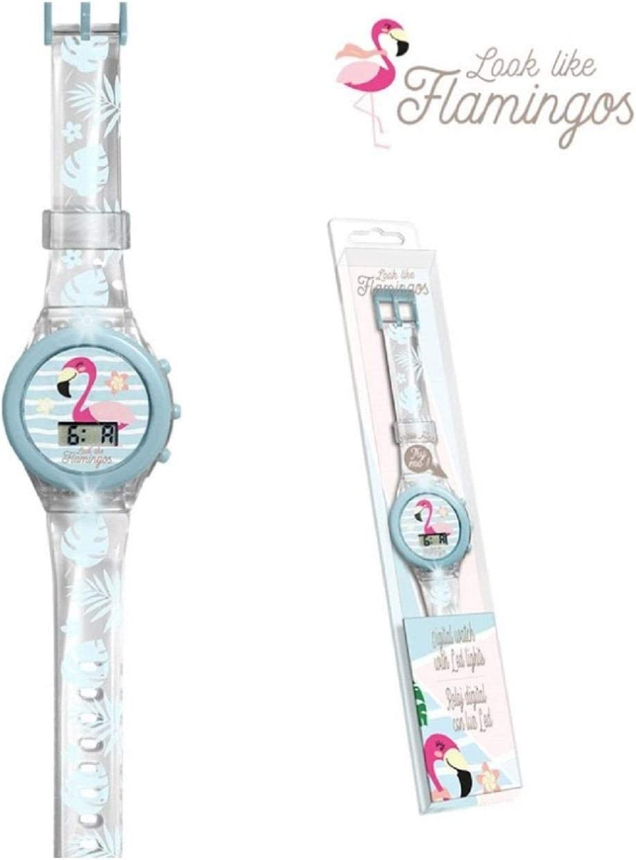Kids Licensing Reloj Digital Luces Colores Caja Acetato de ...