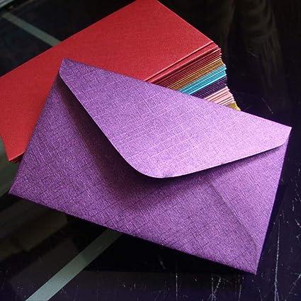 60x100mm 50pcs llegada oro metálico con textura de papel ...