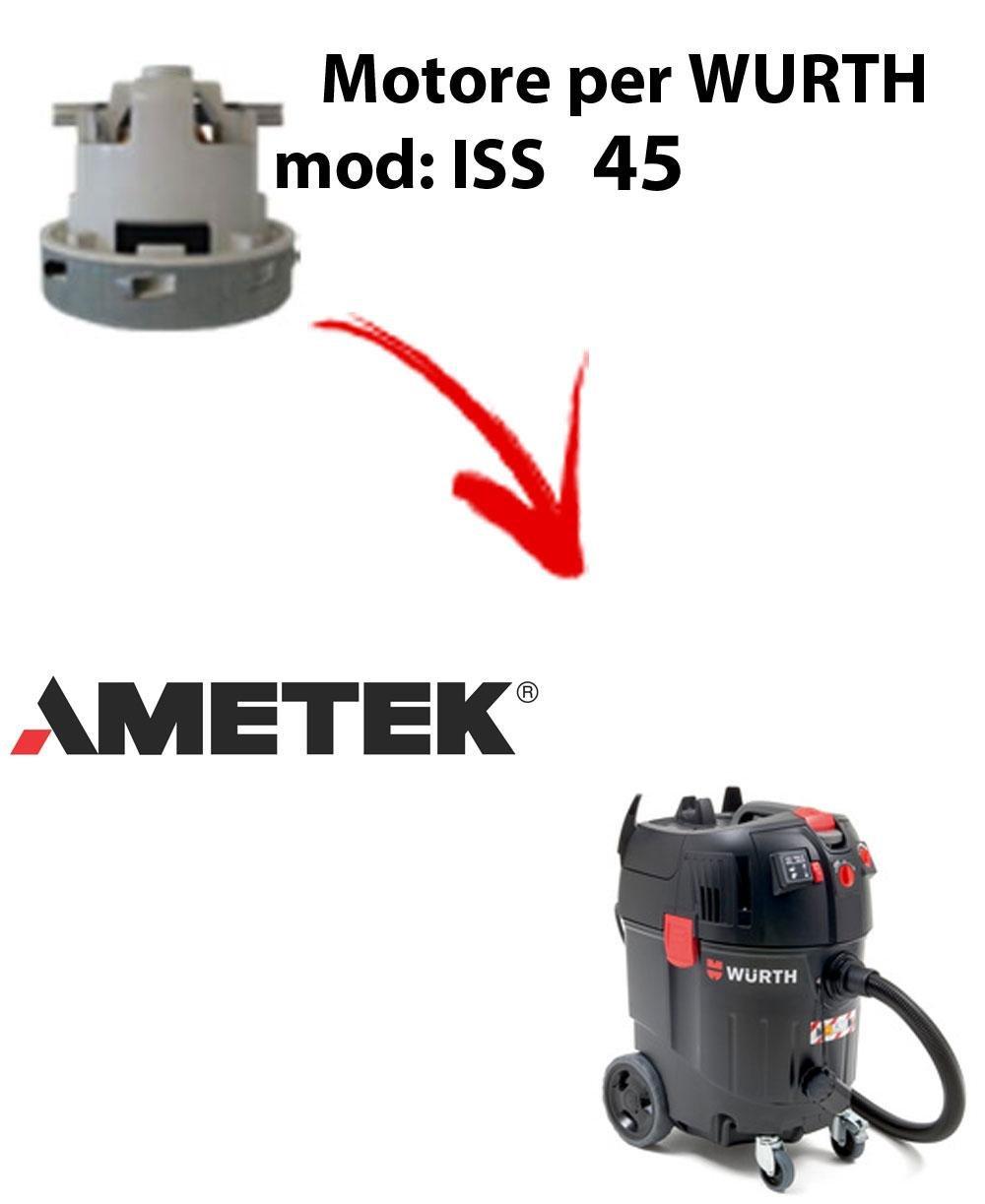ISS 45 automatic motor WURTH Ameteken succión para aspirador ...