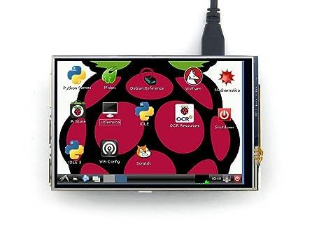 Amazon com: Waveshare Raspberry Pi LCD Display Module 4inch