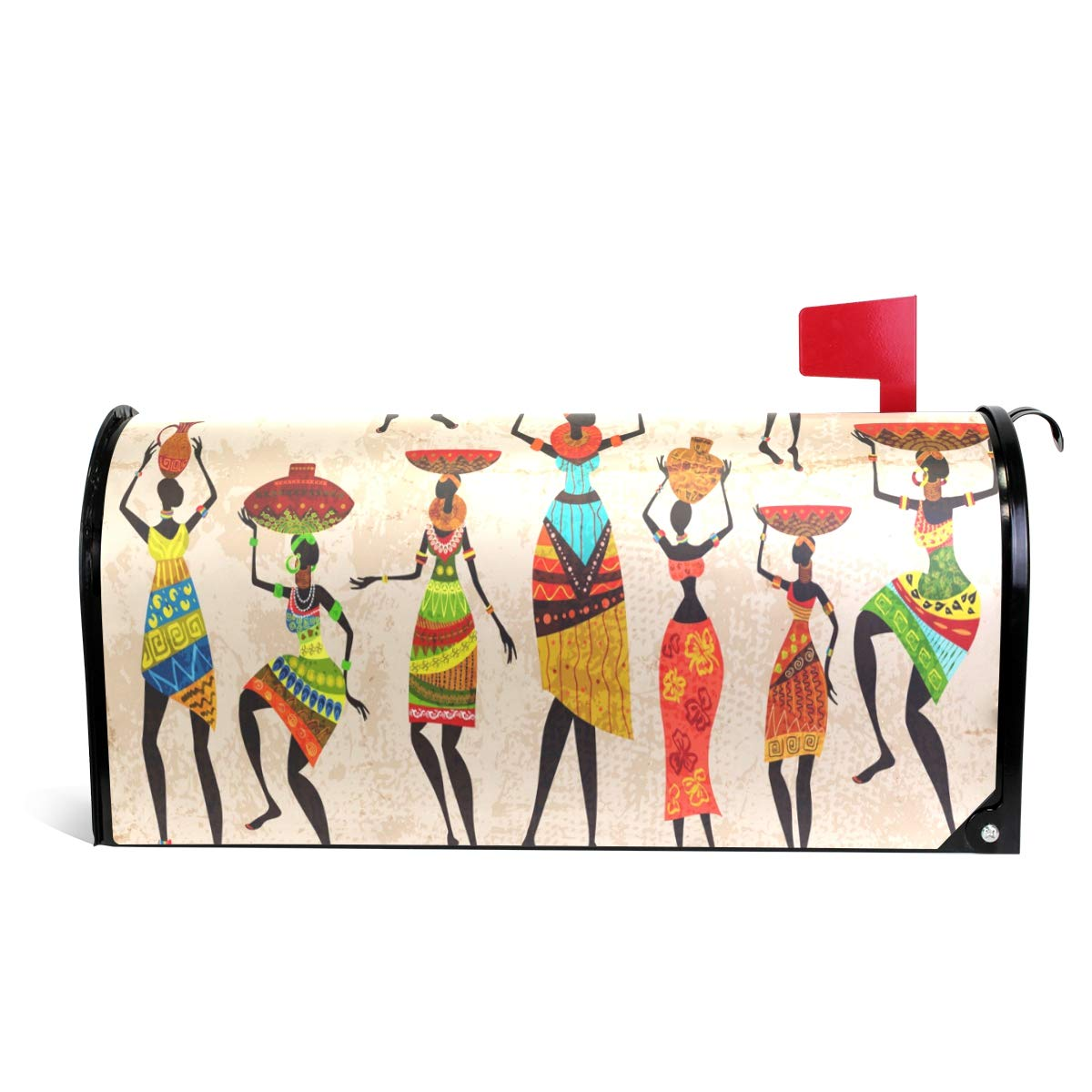 ALAZA African Women Magnetic Mailbox Cover Oversized-25.5'' x20.8