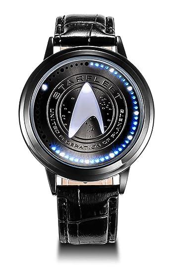 wildforlife Star Trek de coleccionista Edition Touch LED Reloj: Amazon.es: Relojes