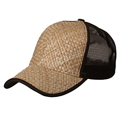 brown university baseball caps chris wholesale straw mesh trucker natural light suede cap