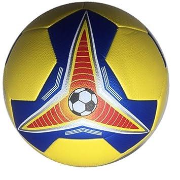 ALWAYYZZ Fútbol Amarillo Azul Hechizo Mixto Juego de Pelota sin ...