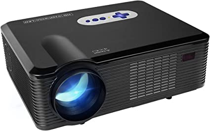 Proyector LED Full HD,Mileagea Videproyector Multimedia 3000 ...