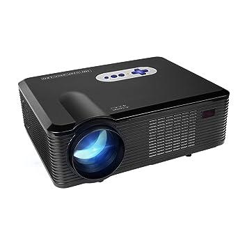 Proyector LED Full HD,Mileagea Videproyector Multimedia 3000 ...