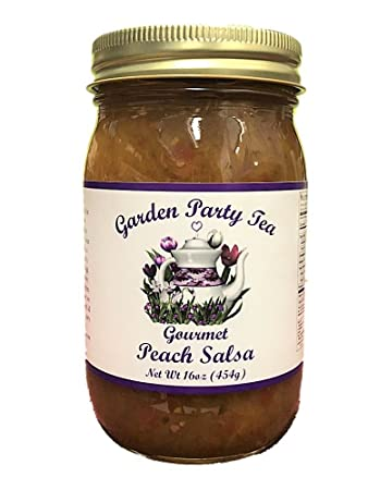 Gourmet Peach Salsa 16oz Jar