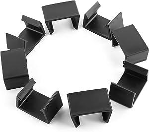 Outdoor Patio Furniture Clips for Patio Sectional Sofa,Sectional Sofa Rattan Furniture Clips Chair Fasteners (8PCS Medium)