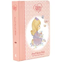 NKJV, Precious Moments Holy Bible, Hardcover, Pink: Small Hands Bible