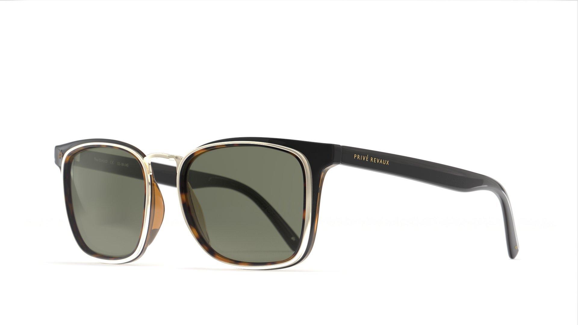 PRIVÉ REVAUX Places We Love Collection''The O.H.I.O'' Polarized Designer Square Sunglasses by PRIVÉ REVAUX (Image #2)