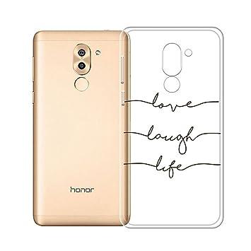 IJIA Funda para Huawei Honor 6X / Mate 9 Lite Ultrafino ...