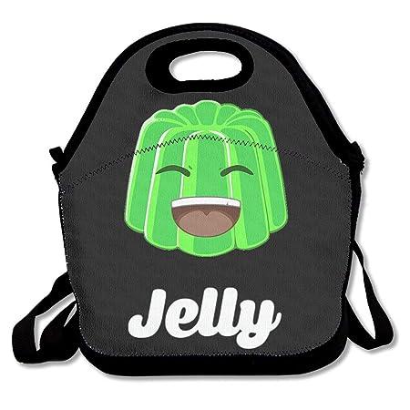 Kwebbelkop Jelly YT Logo Lunch Bag Tote Handbag: Amazon.es ...