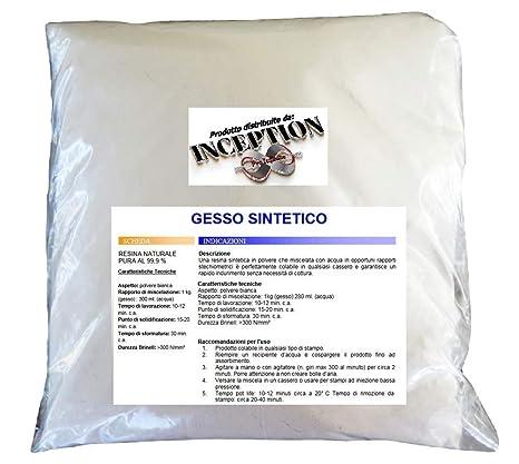 Inception Pro Infinite 1 kg del Mejor Yeso del Mercado - Yeso sintético - no tóxico