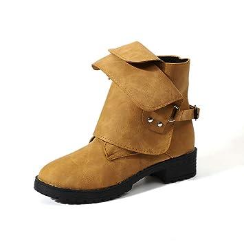 Niña otoño Botines fashion fiesta carnaval,Sonnena ❤ Botines para mujer Leather Knight Ladies Casual Boots Botas de vaquero: Amazon.es: Hogar