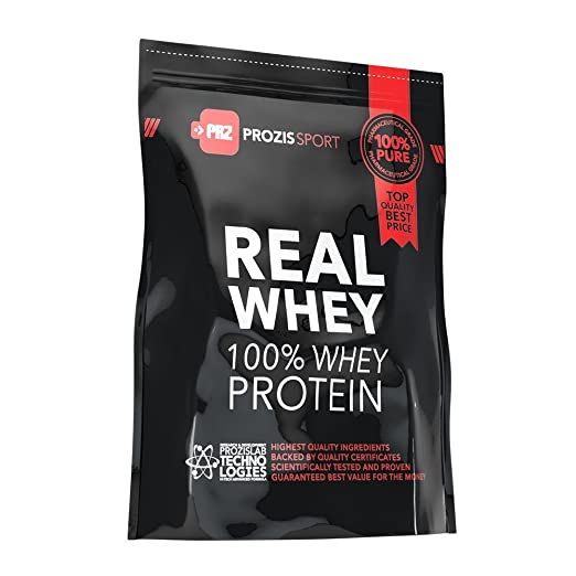 145 opinioni per Prozis 100% Real Whey Proteine whey in polvere 1250g- Delizioso gusto vaniglia
