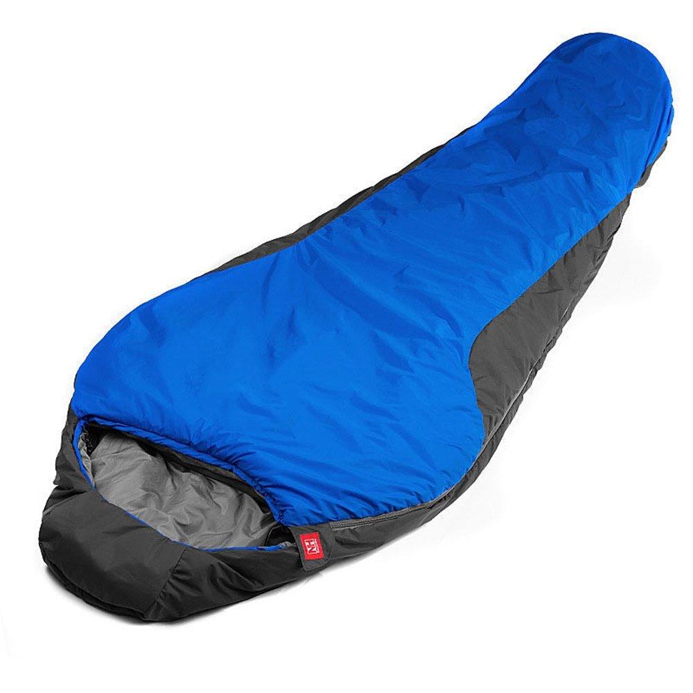 VCIU@@ Saco De Dormir Al Aire Libre 5 ° C Mummy Bag Keep Warm Portable For - Azul: Amazon.es: Deportes y aire libre
