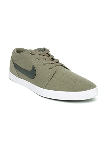 new styles 55a16 67ce6 Nike Men Taupe Voleio Canvas Sneakers -7 UK India (41 EU)(