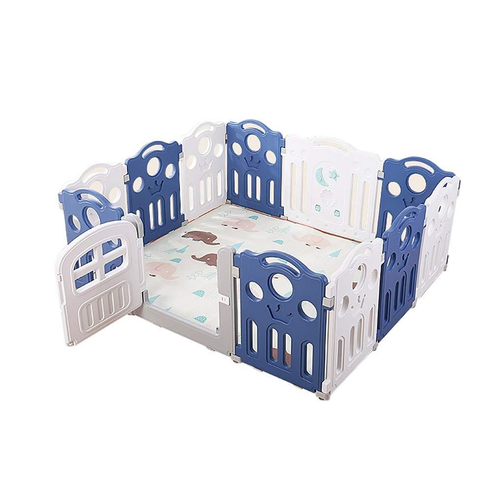 LIUFS-フェンス 子供の遊び場屋内フェンス遊び場幼稚園ガードレール玩具フェンス安全保護センター (サイズ さいず : 10 pieces) B07QJ2YR8L  10 pieces