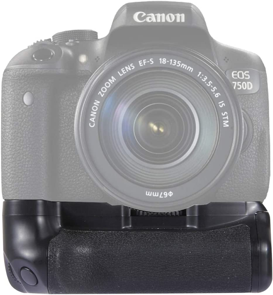 Vertical Camera Battery Grip for Canon 750D 760D Digital SLR Camera Reliable