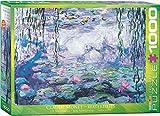 1000 piece puzzle monet - EuroGraphics Waterlilies by Claude Monet 1000 Piece Puzzle