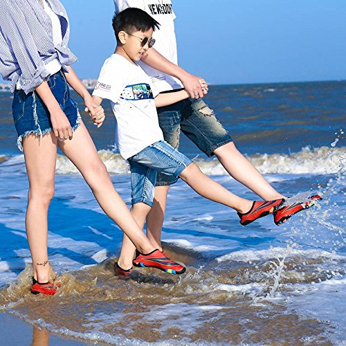 Sports Outdoors Men Water Lovers Red Boy Women Girls Aqua Bigood Shoes Socks 6dxFnXIEw