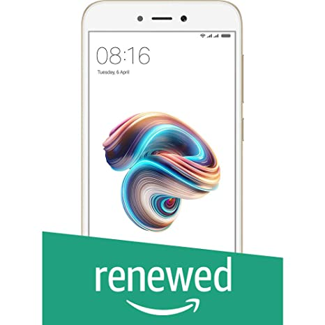 Renewed  Redmi 5A 32 GB  3 GB RAM   Gold  Smartphones   Basic Mobiles