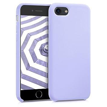 kwmobile Funda para Apple iPhone 7 / 8 - Carcasa de {TPU} para teléfono móvil - Cover {trasero} en {lila}
