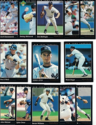 New York Yankees Complete 1993 Pinnacle Yankees Baseball