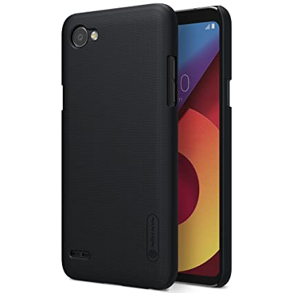 san francisco 78a6c def14 Nillkin Slim Fit Frosted Hard PC Protective Back Case Cover for LG Q6  (Black)