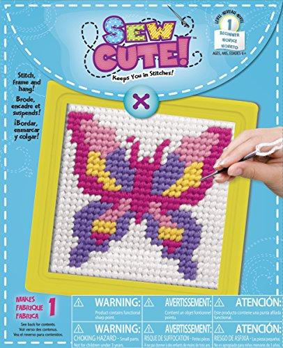 Colorbok Needlepoint Kit (Needlepoint Butterfly Kit)