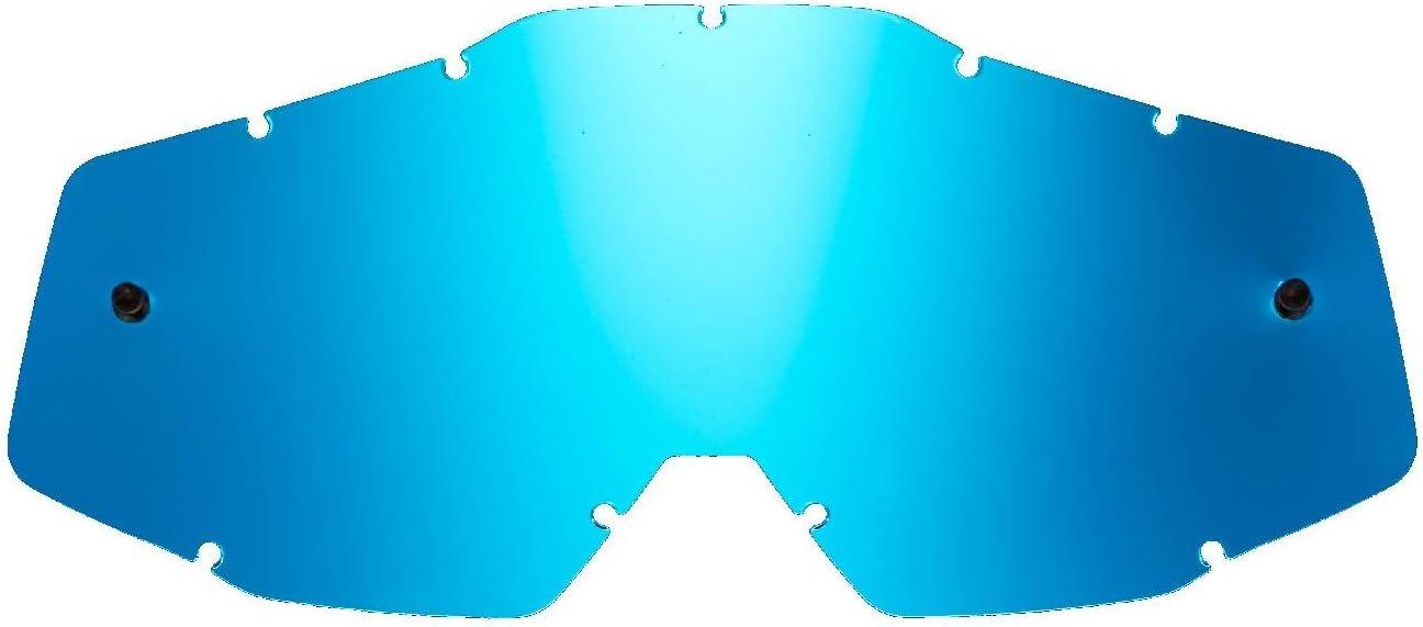 SeeCle SE-41S207-HZ lenti di ricambio per maschere argento specchiato compatibile per maschera 100/% Racecraft//Strata//Accuri//Mercury