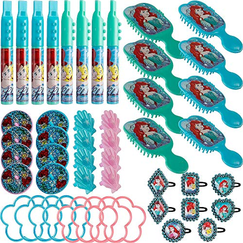 American Greetings Disney Ariel Party Supplies Mega Value Favor Pack, -