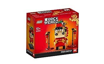 Avec Style Nouvel An Le Danseur Célèbre Lego Dragon Chinois trCQshdx