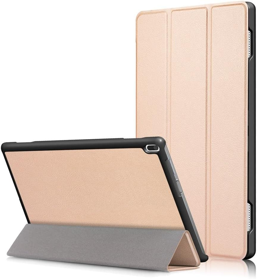 Smart Cover for Lenovo Tab 4 10 Tablet Case(Not Tab4 10 Plus) Folio Smart Cove for Lenovo Tab 4 10.1 inch (TB-X304F,TB-X304N) Slim Folding Stand with Auto Sleep Wake Function,Gold