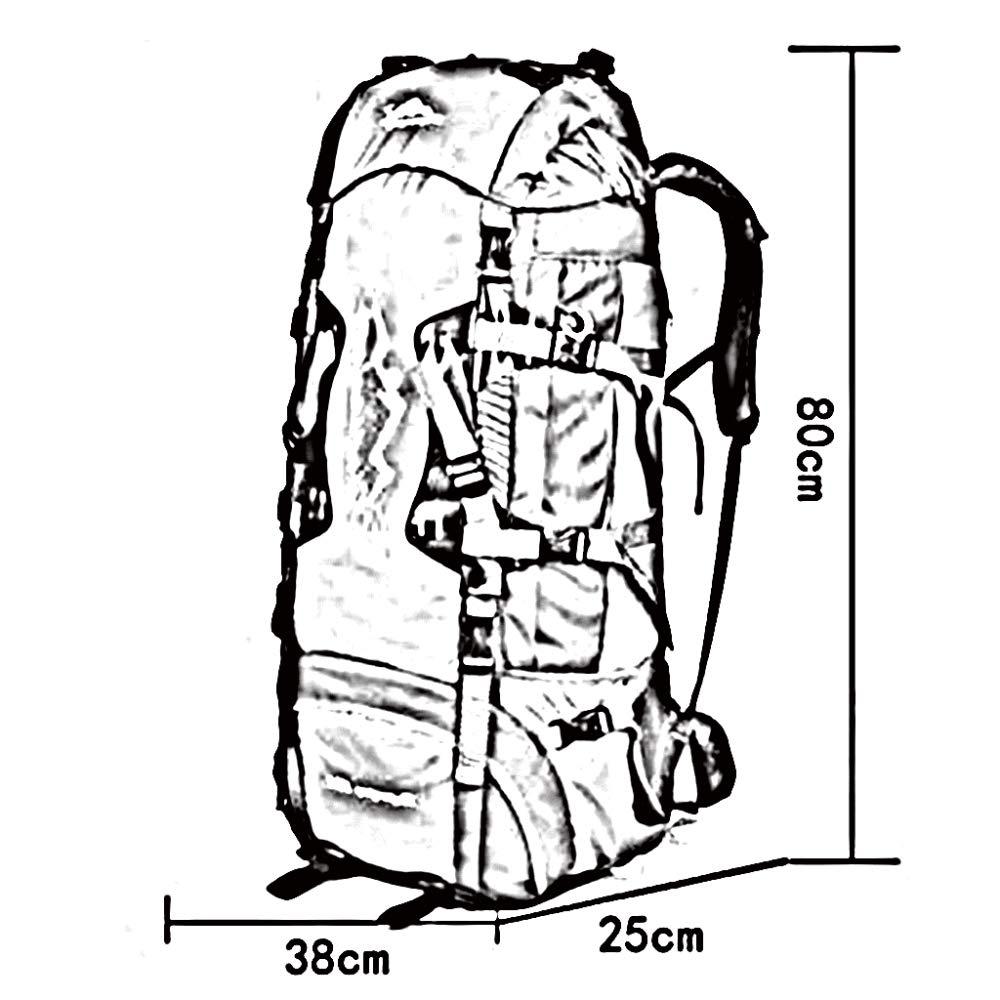 F.RUI 80L Rucksäcke Nylon Tuchmaterial Wasserdicht Atmungsaktiv Stoßfest Stoßfest Stoßfest Außen Camping Wandern Klettern Freizeit Multifunktional Sport Wanderrucksäcke 7 Farben B07HCWWRBJ Trekkingruckscke Meistverkaufte weltweit a5fceb