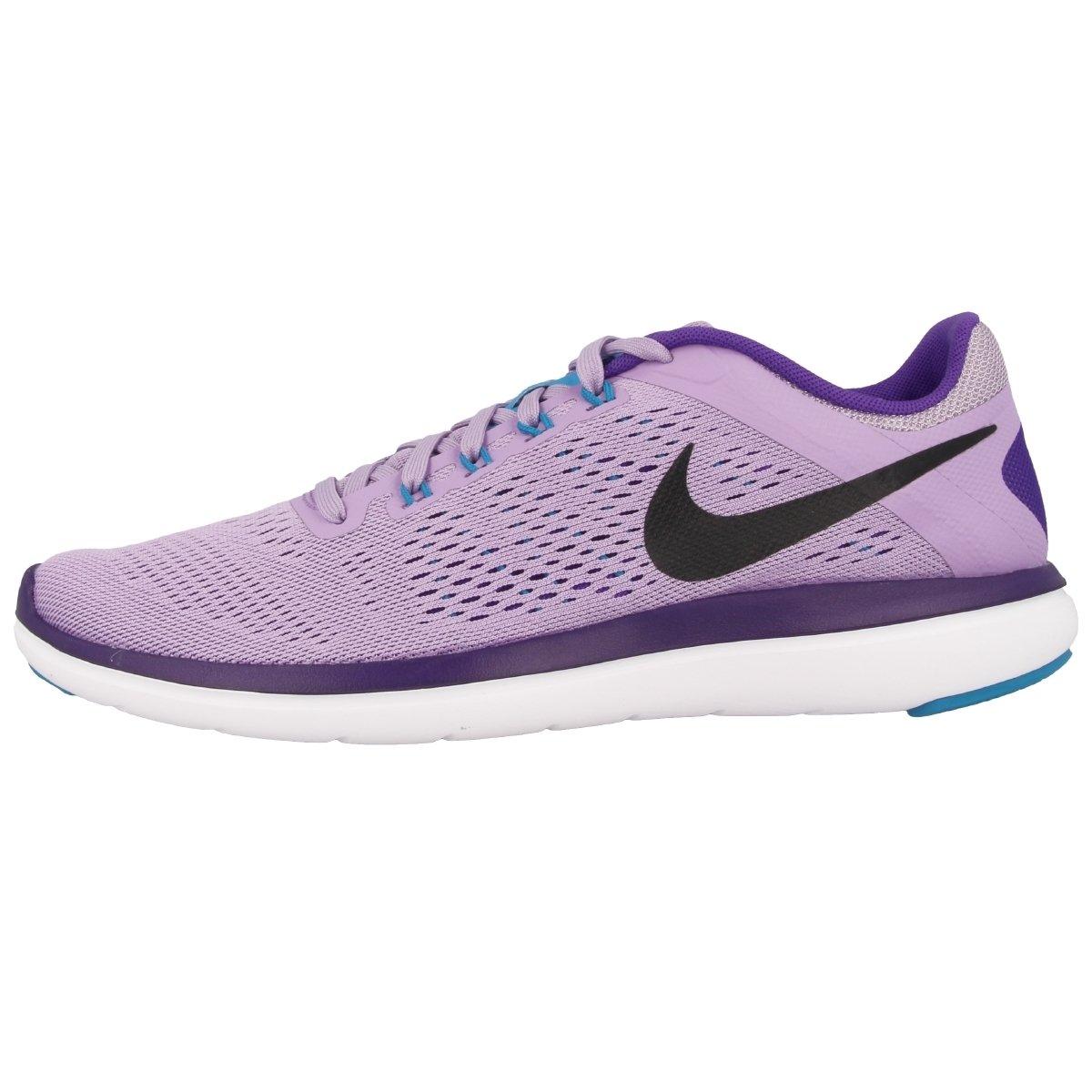 NIKE Women's Flex 2016 Rn Running Shoes B01CJ2QQL8 10.5 B(M) US Urban Lilac/Black/Fierce Purple/White
