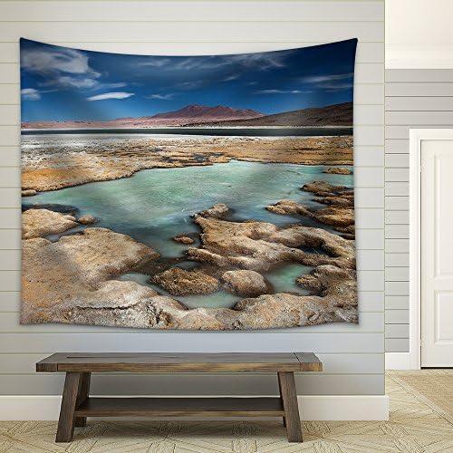 wall26 – Salar De Tara, Desert Atacama, Chile – Fabric Wall Tapestry Home Decor – 68×80 inches