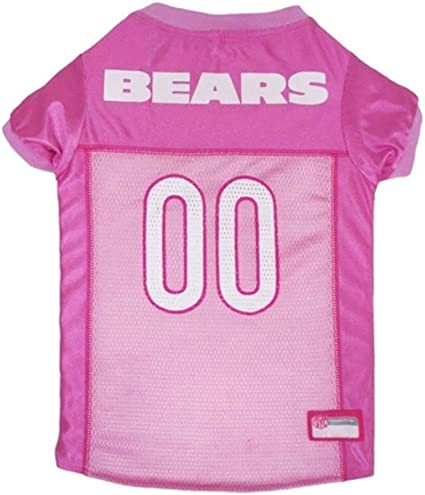NFL Chicago Bears Dog Jersey Pink