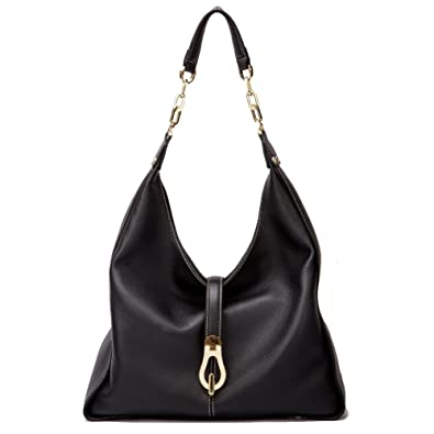 Amazon.com  Women Genuine Leather Hobos Bags Soft Totes Designer Shoulder  Handbags Satchels Full Grain Cowhide  Shoes 62a60467a9433