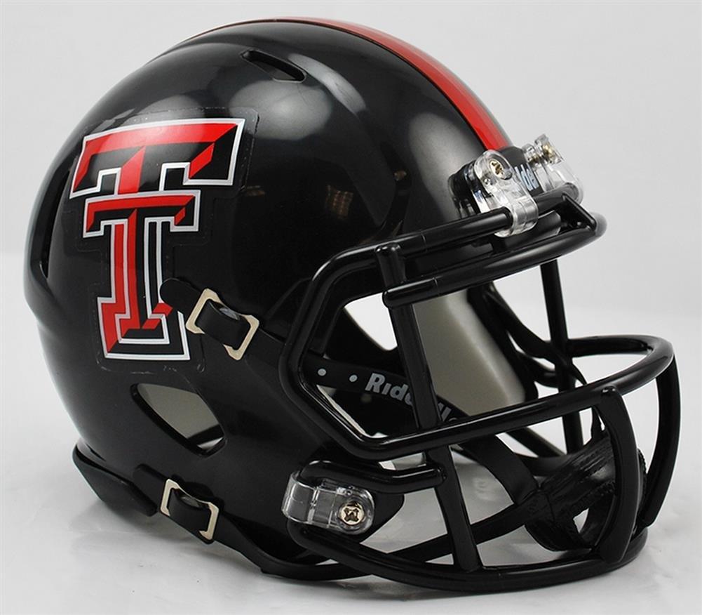 NCAA Texas Tech Red Raiders Speed Mini Casco Riddell Inc. SS-SPI-RIDDMINIUTTSP