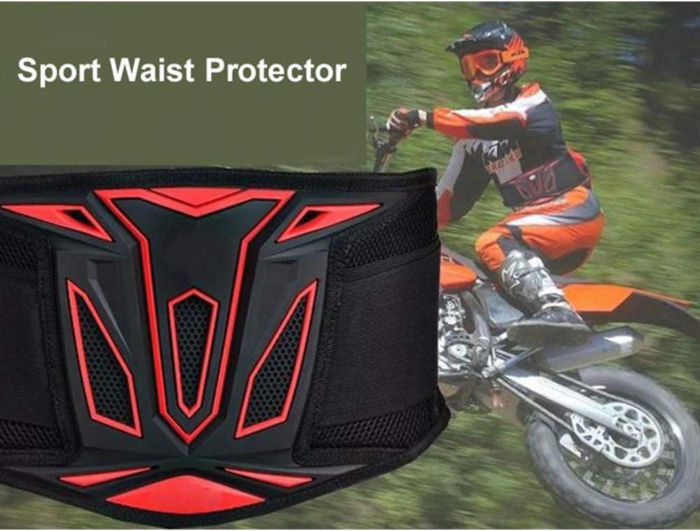 TZTED Faja Lumbar para Espalda Cintur/ón De Equitaci/ón Equipo De Protecci/ón De Motocross Equipo De Ciclismo Caballero Cintur/ón Deportivo De Bicicleta El/éctrica
