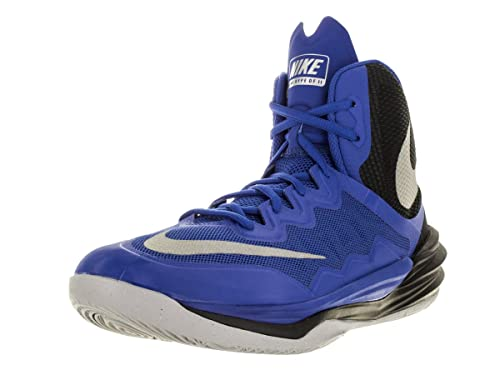 03a8777e06fc Nike Men s Prime Hype DF II Basketball Shoe Gm Ryl Rflct Slvr Blk Wlf Gry  10 D(M) US  Buy Online at Low Prices in India - Amazon.in