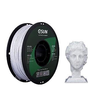 eSUN Mármol PLA Filamento de Impresora 3D, Filamento PLA 1.75mm ...