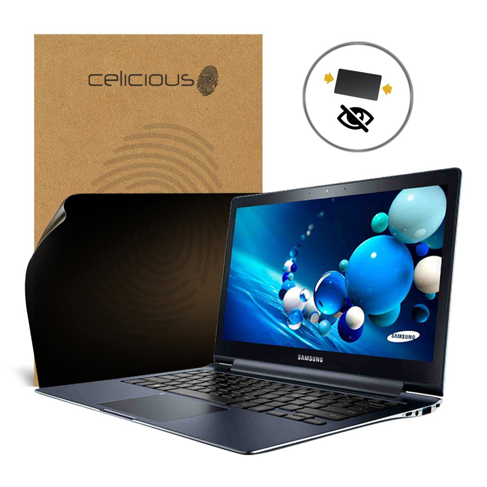 Celicious Privacy 2-Way Anti-Spy Filter Screen Protector Film Compatible with Samsung ATIV Book 9 Plus