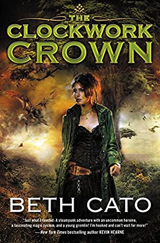 book cover of The Clockwork Crown