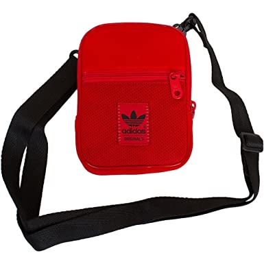 0cbaf476bb9 Adidas Originals Festival Bag Red   Black  Amazon.co.uk  Clothing