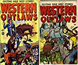 Western Outlaws. Issues 17 and 18. Exciting wild west stories. Golden Age Digital Comics Wild West Western