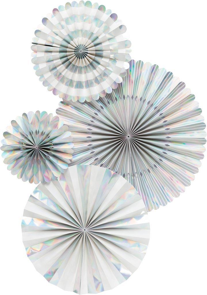 My Mind's Eye Basic Holographic Fan Set by My Mind's Eye