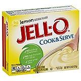 jello lemon pie filling - Jell-O Lemon Cook & Serve Pudding Mix 4.3 Ounce Box (Pack of 6)